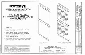 Amerimax Home Products 77101 144 In  Aluminum Solid Soffit