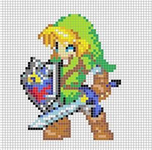 Link Pixel Art Grid | Minecraft Pixel Art | Pinterest ...