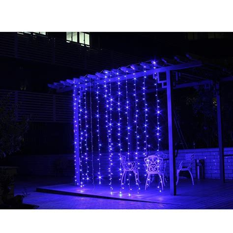 romantic 1mx2m 220v 104 led durable christmas door decor