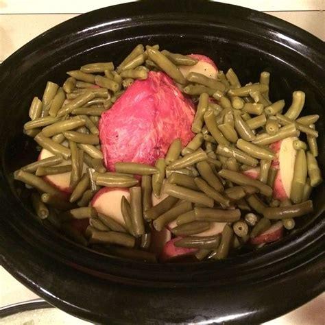 cottage ham cottage ham skin potatoes and green beans crock pot