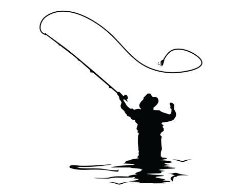 Fishing Boat Clipart Black And White by Fly Fishing Clipart Black And White Www Pixshark
