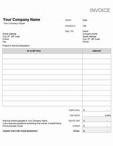 invoices officecom With invoice with tax