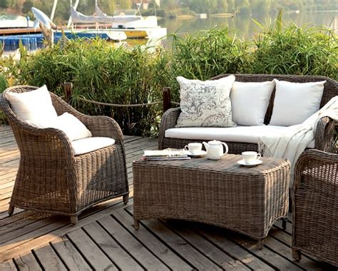 aluminum vs resin wicker outdoor and patio furniture