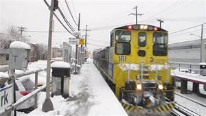LIRR: Pre Rush Hour Monday Afternoon Snow Action at New ...