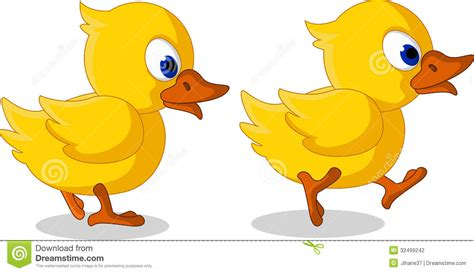 2 Ducks Clipart
