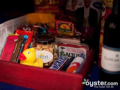 wacky hotel minibar items business insider