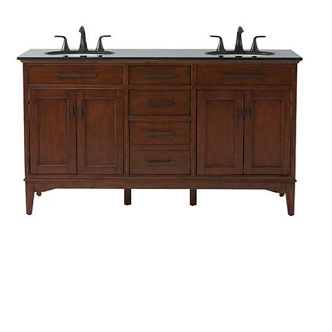 home depot double sink vanity home decorators collection manor grove 61 in double