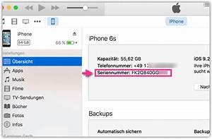Itunes Karte Auf Rechnung : iphone imei oder seriennummer herausfinden techmixx ~ Themetempest.com Abrechnung