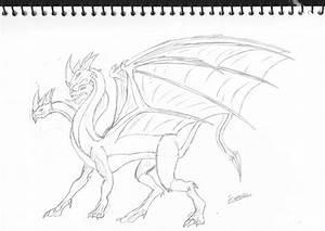 Hydra Dragon by terrordark on DeviantArt