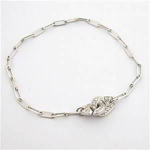 Bijoux Anciens Occasion : bracelet or blanc diamants 104 menottes dinh van bijoux anciens paris or ~ Maxctalentgroup.com Avis de Voitures