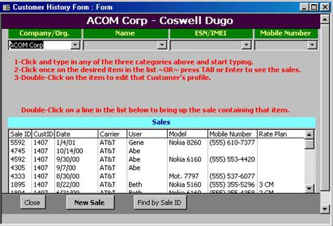 cc cell cell phone retailer software