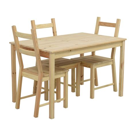Ikea Pine Kitchen Table And Chairs by 51 Ikea Ikea Ingo Pine Table With Ivar Pine Chairs