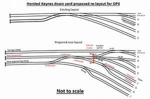 Horsted Keynes Track Layout