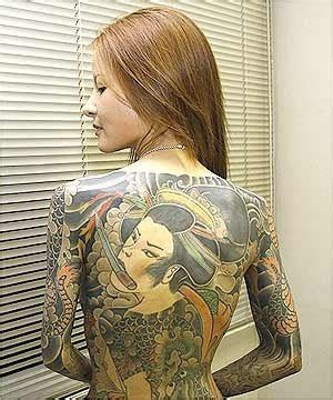 foto de The History of Yakuza Tattoos Tatoo Design Girl in Life
