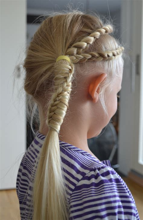 long blonde updo  braids  pony tail  blonde