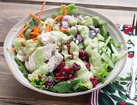 Ranch Dressing Houses Not Salads by Chicken Salad With Avocado Ranch Dressing Zest