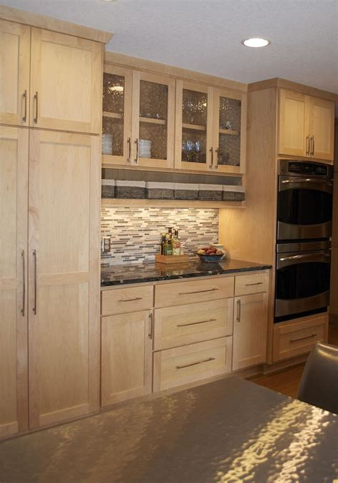 ideas  light wood cabinets  pinterest wood