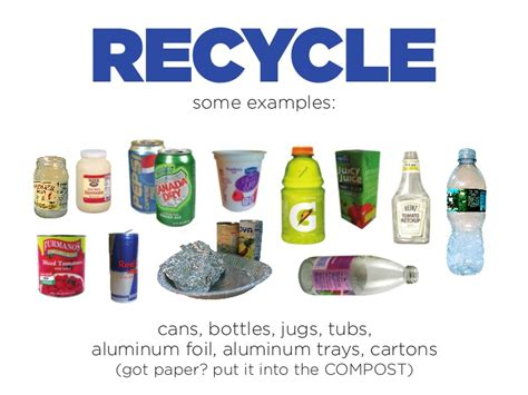 recycle sign     composting paper