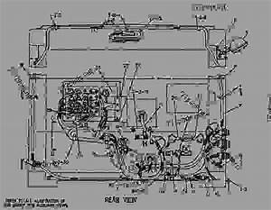 8w0584 Wiring Group-cab - Engine