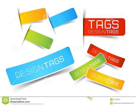 Design Tags Labels Stock Vector Illustration Smart
