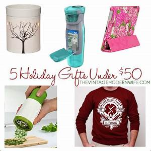 5 Unique Holiday Gift Ideas under $50 The Vintage Modern