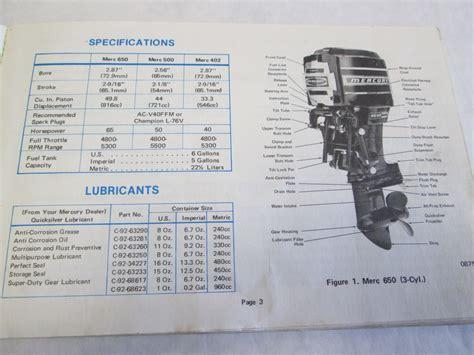 Mercury 650 Wiring Diagram by 65 Hp Mercury Outboard Motor Wiring Diagram Impre Media