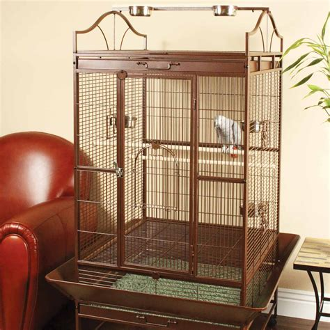 standing parrot cage petco
