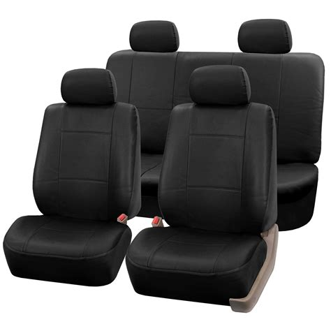 Amazoncom Fh Group Universal Fit Seat Cover Faux