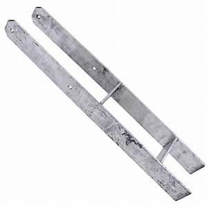 H Pfostenträger 800 : 1 h pfostentr ger feuerverzinkt 600 mm 800 mm 6 mm gah alberts ebay ~ Watch28wear.com Haus und Dekorationen