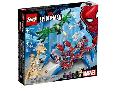 five new lego spider sets revealed available this
