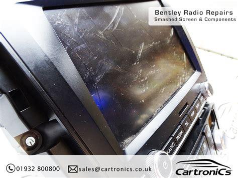 Bentley Sat Nav Radio Repairs