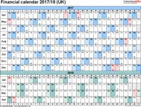 2017 2018 Fiscal Year Calendar