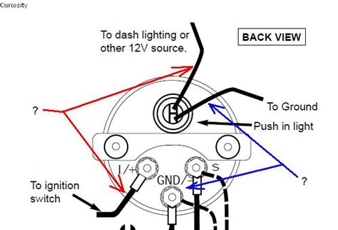 Auto Wiring Diagram Pressure by Autometer Pressure Wiring Shortcut General