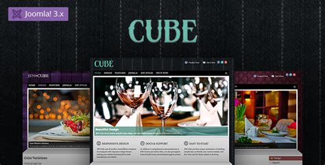 cube template theme forest jsn cube joomla fashion responsive template by