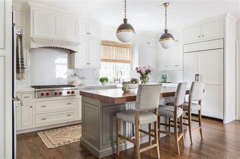 gray kitchen island thick butcher block island countertop with gray nailhead 1326