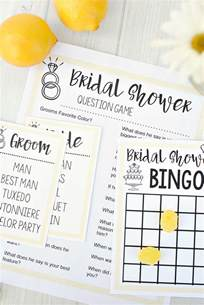 When Do You Have Bridal Shower by Bridal Shower Games Fun Squared