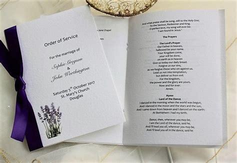 wedding order  service order  service  weddings