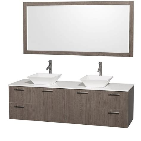 wyndham collection amare 72 inch w double vanity in grey