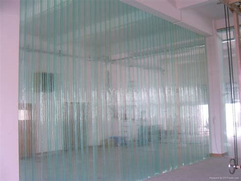 doors made to order transparent pvc soft curtain 2012041706 yh china