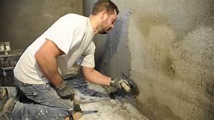 Étanchéité Mur Enterré Par L Intérieur : cuvelage des murs enterr s par uab renovation youtube ~ Farleysfitness.com Idées de Décoration