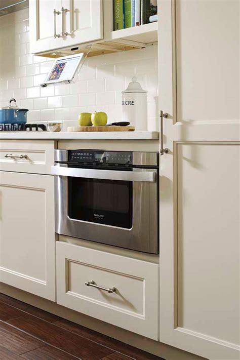 base built  microwave cabinet kemper cabinetry