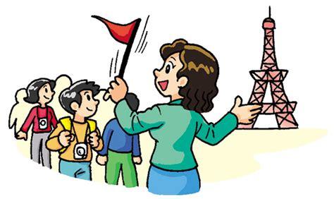 Tourist Guide Clipart