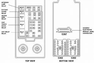 Circuit Electric For Guide  2004 Ford Expedition Eddie Bauer Fuse Box Diagram
