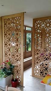 panneau de separation interieur fashion designs With separation en bois deco interieure
