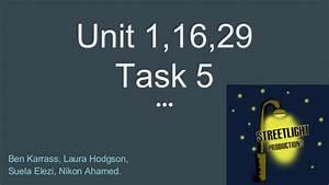 Unit 1,16,29 Task 5