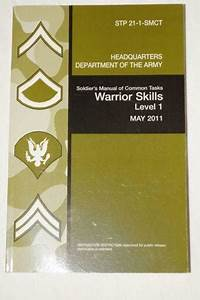 Soldier U0026 39 S Manual Of Common Tasks