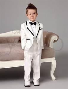 2015 autumn new boys white tuxedos wedding attire baby boy With baby boy dress clothes wedding