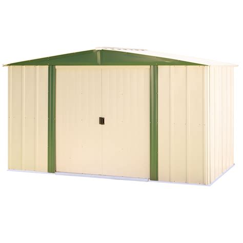 arrow storage sheds sears arrow hm65 6 x5 steel shed