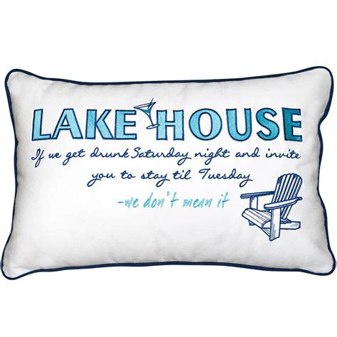 lake house pillows lake house inspiration indoor cotton pillow rightside