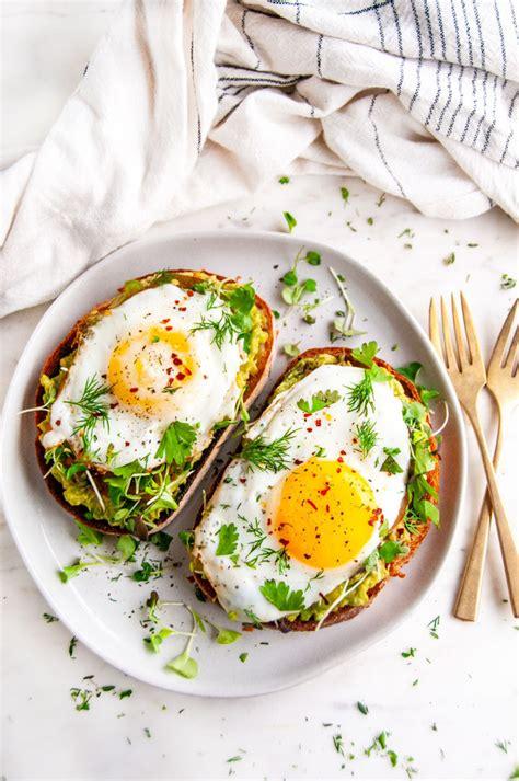avocado egg breakfast toast aberdeens kitchen